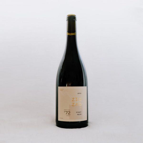Zig Zag Rd Wines 1972 Pinot Noir