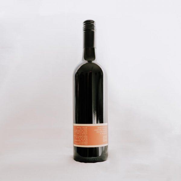 Zig Zag Rd Wines Cabernet Sauvignon back